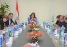 وزيرة التخطيط تلتقي وفد البرنامج الإنمائي للأمم المتحدة