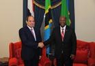 السيسي: حريصون على التشاور مع تنزانيا لتعزيز الاستقرار في إفريقيا