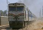 """عودة حركة القطارات """"طنطا-المنصورة"""" بعد حريق بجرار قطار"""