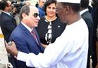 الرئيس السيسي يغادر تشاد في نهاية جولته الإفريقية
