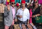 بوسي شلبي: عدنا لمصر.. ولم نصب بأذى في قصف معرض دمشق