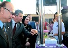 """محافظ القاهرة يفتتح """"شارع مصر"""" أول مشروع لعربات الشباب المتنقلة بالنزهة """"صور"""""""