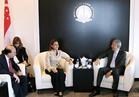 مميش ونصر يبحثان مع نائب رئيس الوزراء السنغافوري زيادة الاستثمارات في مصر