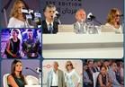 صور| يسرا ونيللي كريم وبشرى والفيشاوي يشاركون بمؤتمر «مهرجان الجونة»