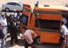إصابة 8 صينيين في حادث بطريق السويس – القاهرة