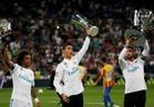 شاهد.. ريال مدريد يستعرض ألقابه في سانتياجو برنابيو