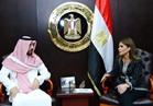 نصر تلتقي الأمير خالد آل سعود لبحث الفرص الاستثمارية المتاحة