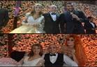 صور| رامي صبري يغني وأوكسانا ترقص بحفل زفاف جنات
