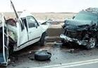 مصرع 4 أشخاص وإصابة 20 آخرين في حادثي تصادم بالمنيا
