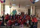 """""""صيادلة سوهاج"""" تحتفل بالعيد مع أطفال معهد الأورام"""