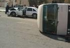 """إصابة 25 شخصًا في انقلاب """"كوستر"""" بطريق سفاجا الغردقة"""