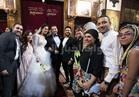 صور| أهل الغناء يحتفلون بزفاف «رامز و ماريان»