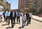 محافظ قنا يتابع أعمال إعادة رصف الطرق