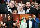 صور| زفاف «الرملاوي وسارة» بتوقيع تامر حسني ومحمد نور وبوسي