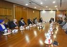 """«البترول» و""""ارامكو"""" يبحثان معدلات تنفيذ مشروع تحويل مصر لمركز اقليمى للطاقة"""