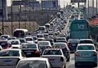 كثافات مرورية متوسطة بمعظم محاور القاهرة