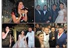 صور| فؤاد وتامر حسني وبوسي وسعد الصغير يشعلون زفاف «لؤى وهبة»
