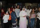 أحمد عواض يشهد عرض العفاريت بمسرح وكالة الغوري