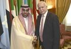 رئيس البرلمان العربي يلتقي بوزيري خارجية فلسطين وليبيا لبحث المستجدات