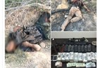 قوات إنفاذ القانون بشمال سيناء تقضي على 3 تكفيريين شديدي الخطورة
