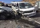 مصرع 3 وإصابة 2 من أسرة واحدة في حادث تصادم بالسويس