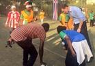 صور| السفير البريطاني يشارك في مسابقة كرة قدم للاجئات