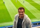"""عمرو دياب في مدرجات """"ستامفورد بريدج"""" لمشاهدة مباراة """"تشيلسي وأرسنال"""""""