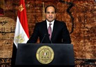 السيسي : نخوض حرباً ضد الإرهاب لايمكن مقارنتها بالحرب النظامية