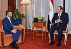صور.. السيسي يستقبل وزير الخارجية الإماراتي بمقر إقامته في نيويورك