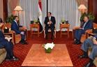 السيسي يشدد على ضرورة مواجهة التدخل في شئون الدول العربية