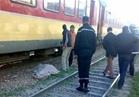 مصرع موظف تحت عجلات القطار في المنيا