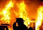 إنقاذ قرية عمروس بالمنوفية من حريق مروع