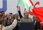 """بارزاني يوجه بيانا لحث الأكراد على """"تفادي حرب أهلية"""""""