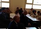 «شوقي» يبدأ العام الدراسي الجديد بـ«تحية العلم» في مدرسة «تحيا مصر» بالأسمرات