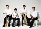 حكايات موسيقية عالمية يرويها رباعي الساكسفون الكوري بالأوبرا