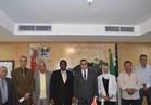 وفد منظمة الأغذية والزراعة بالأمم المتحدة يزور محافظة الفيوم