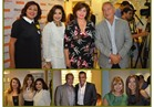 صور| والي وإلهام شاهين وساويرس يشاركون باحتفالية مركز تجميل