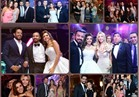 صور| حماقي يشعل زفاف كريمة ممدوح موسى.. ولطيفة وجنات تشاركان بالغناء