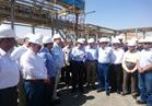 وزير البترول يتفقد مشروع تخزين المنتجات بمدينة بدر