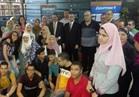 أوائل الثانوية العامة يغادرون القاهرة متجهين إلى بكين