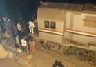 خروج قطار عن القضبان بكفر الشيخ ولا خسائر في الأرواح
