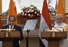 السيسي يلتقي رئيس وزراء الهند لبحث التعاون الثنائي بين البلدين