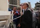 محافظ القاهرة يدشن منظومة النظافة الجديدة في المعادي