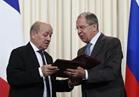 روسيا وفرنسا تؤكدان ضرورة تعزيز التعاون لتسوية الأزمة السورية