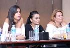 صور| رندا البحيري وفريد وسارة نخلة أعضاء تحكيم ملكة جمال مصر 2017