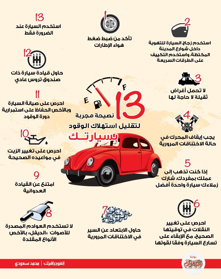 21 نصيحة لتوفير استهلاك الوقود بالسيارة الطريق السريع أفضل بوابة أخبار اليوم الإلكترونية