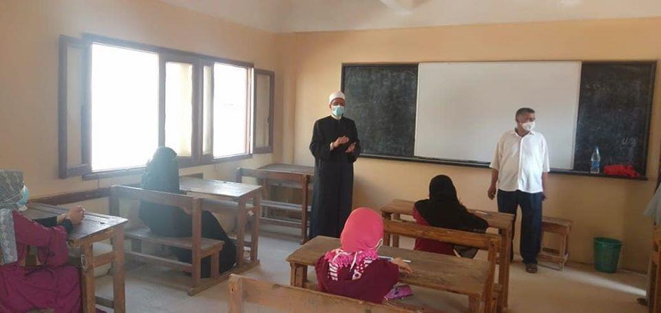 وكيل الأزهر يتفقد لجان الثانوية الأزهرية بمحافظة الشرقية بوابة أخبار اليوم الإلكترونية