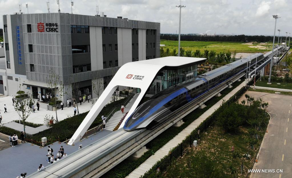 أسرع مركبة أرضية| تحرك أول قطار مغناطيسي في العالم بجمهورية الصين | بوابة  أخبار اليوم الإلكترونية