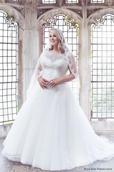 9064422ee صور| فساتين زفاف للعروس السمينة | بوابة أخبار اليوم الإلكترونية