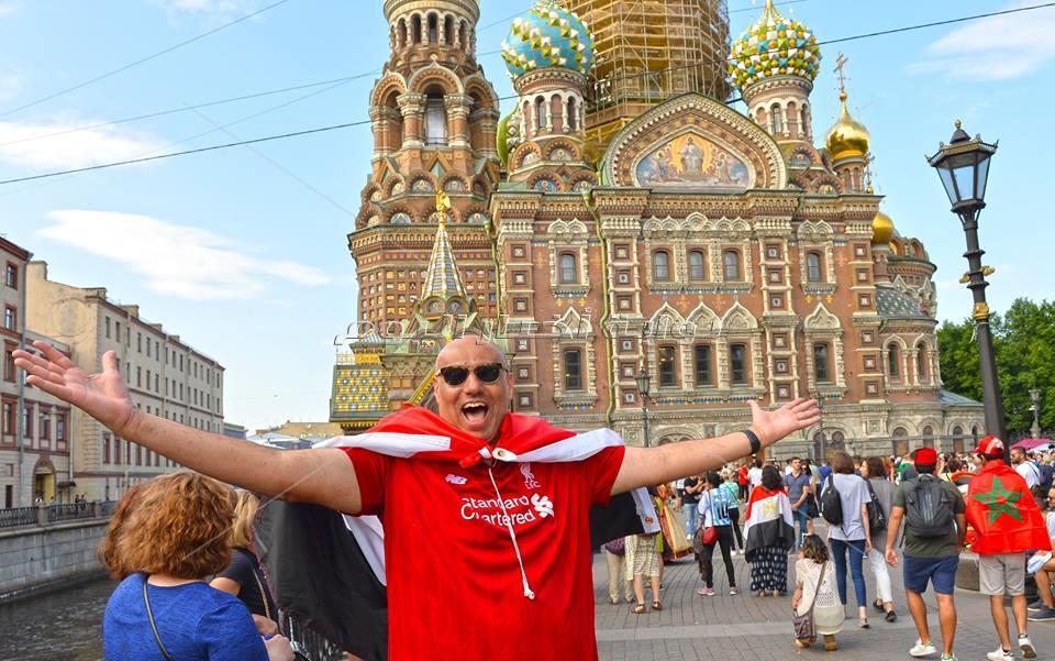 مدينة «سان بطرسبرج» تستعد لمباراة مصر وروسيا «صور» - تصوير إيهاب عيد